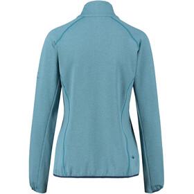 Kaikkialla Talvikki Wafflefleece Jacket Women Smoke Blue